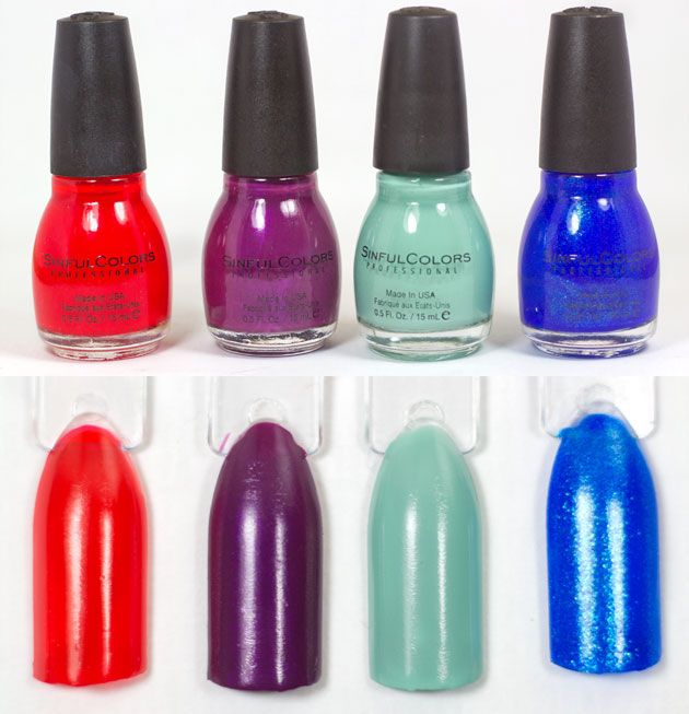 1000 images about nails ongles on pinterest - Vernis Sinful Colors