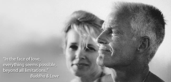 Lama Ole Nydahl and Hannah Nydahl from his book, Buddha and Love