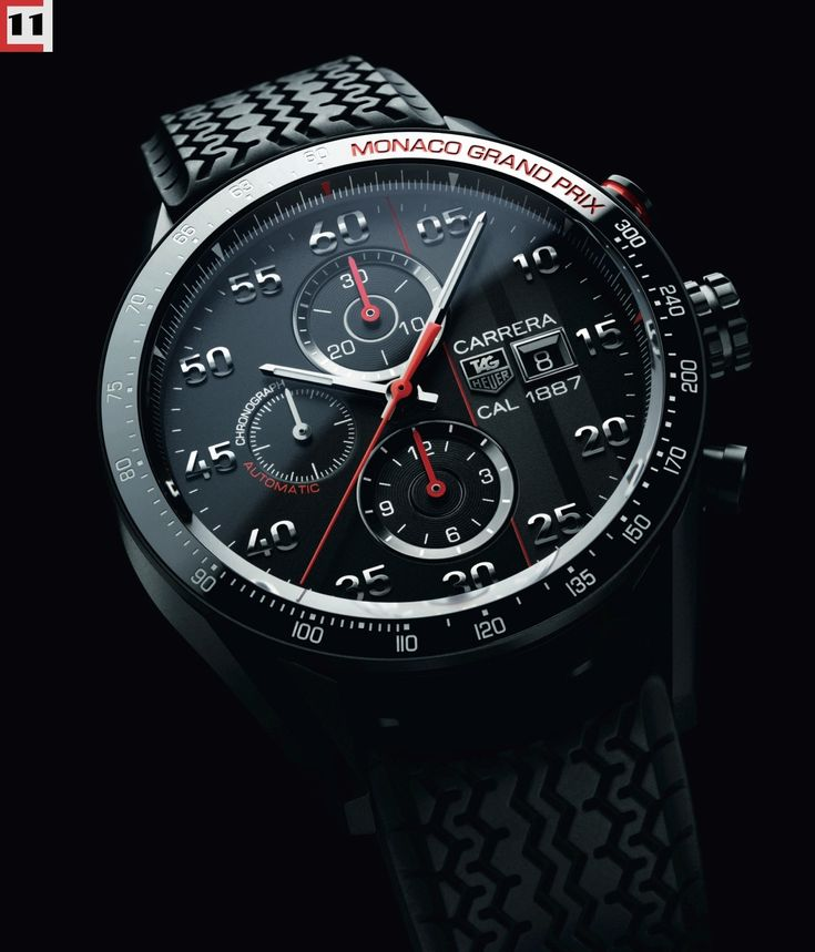 "2014 TAG Heuer Carrera 1887 ""Monaco Grand Prix"" Titanium Edition 