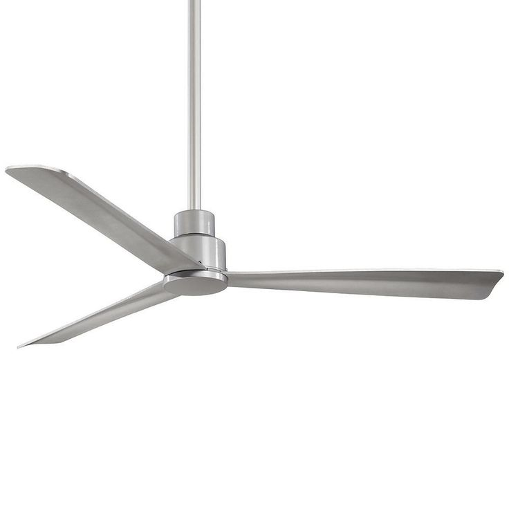 Simple in look, but elegant in function. The Minka Aire Simple LED Indoor/Outdoor Ceiling Fan brings you a sleek, minimalistic design that blends into any modern environment with genius functionality.