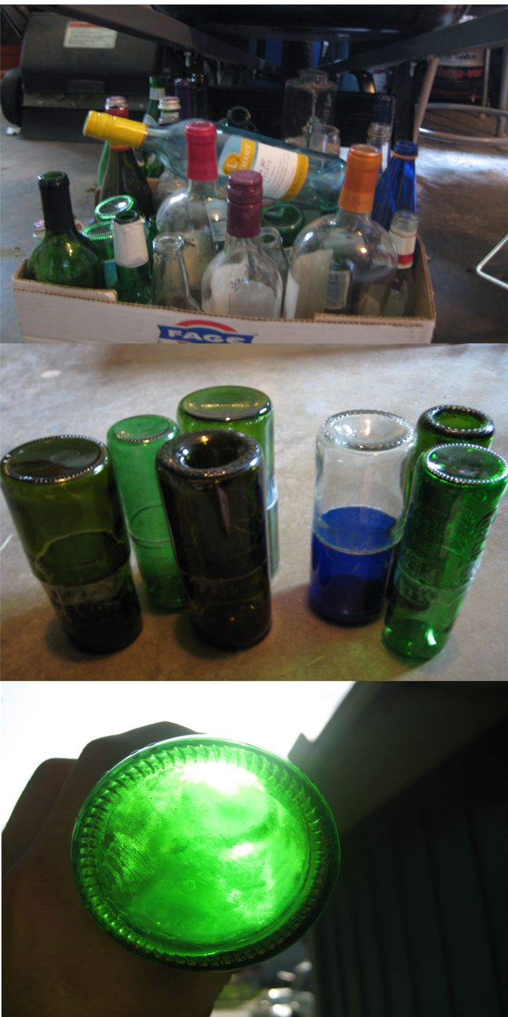 82 best healthcare design images on pinterest healthcare for How to remove bottom of glass bottle