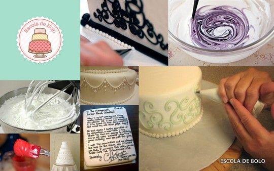 Muito antes da invenção da pasta americana, os bolos eram cobertos com uma mistura de claras, açúcar e suco de limão. Cobria-se o bolo inteiro com uma grossa camada deste glacê deixava-se secando por dias. Em 1840 foi usado para cobrir o bolo de casamento da Rainha Vitória.