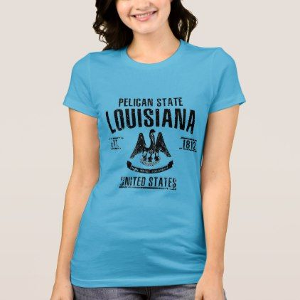 #Louisiana T-Shirt - #travel #trip #journey #tour #voyage #vacationtrip #vaction #traveling #travelling #gifts #giftideas #idea