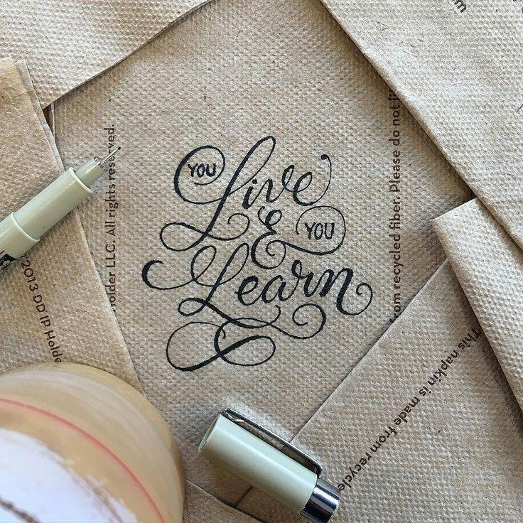 Lovely fine script by @penmanships | #typegang - typegang.com | typegang.com #typegang #typography