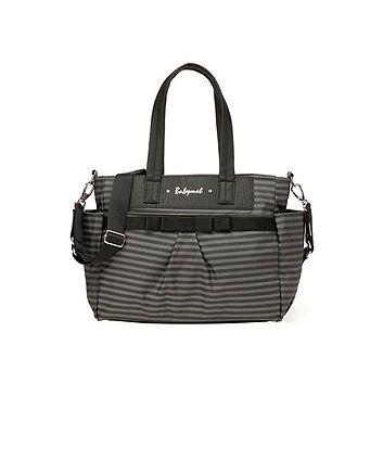 Babymel Cara Stripe Grey Changing Bag