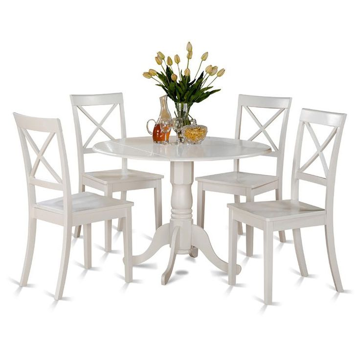 The Dublin Drop Leaf Kitchen Table Set Are Of Compact Size Which Can Be Good