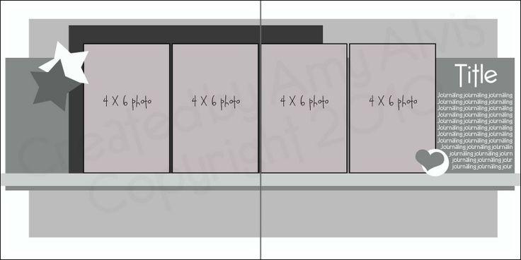 4 X 6 Photo Sketch Blog: 12 X 12 - 50