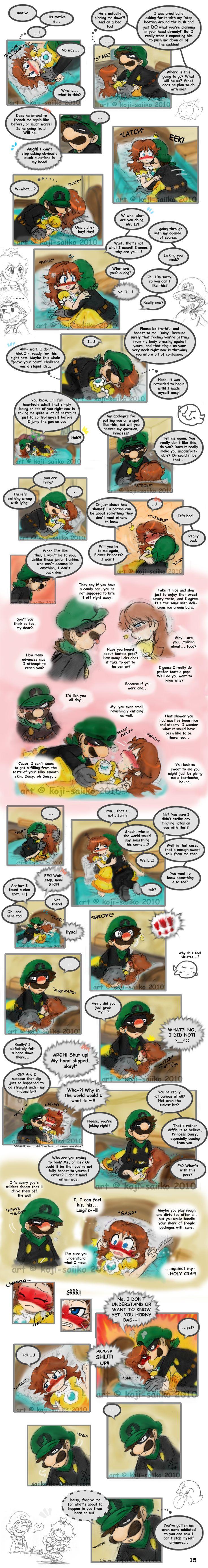Mario: Alone at Home Pg 15 by saiiko