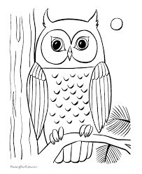 Image result for de pages a coloriage hibou