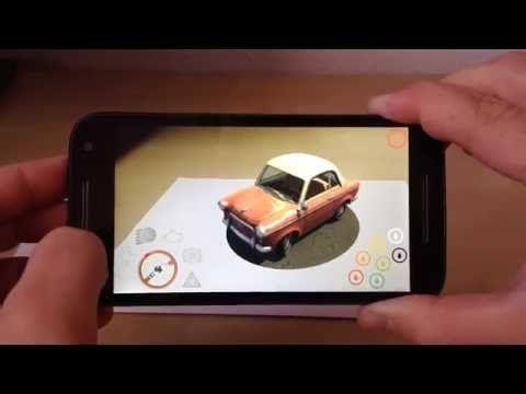 AR Augmented Reality 3D Game AR Android App Car AR