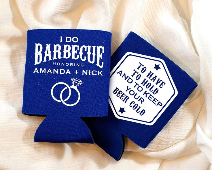 New to SipHipHooray on Etsy: I Do BBQ Favors Wedding Shower BBQ Party Favors To Have and To Hold and To Keep Your Beer Cold Couples Shower Favors I Do BBQ 1333 (75.00 USD)