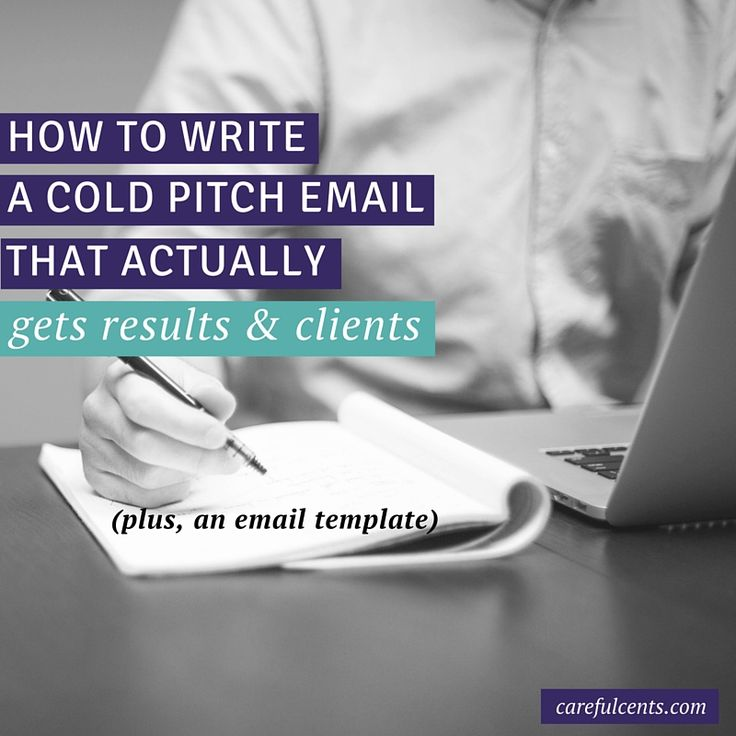 Use this cold call email pitch to get more clients! Plus use this free email template.