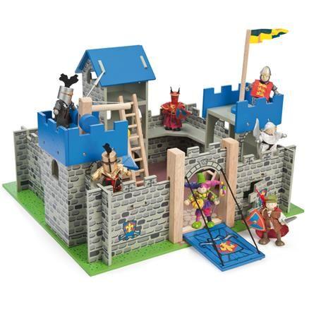 Le Toy Van Excalibur Castle Blue