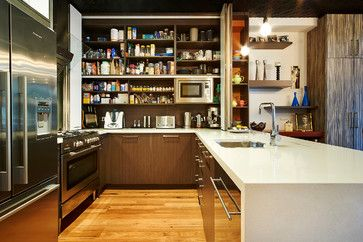 Pantry Cupboards Design Ideas, Pictures, Remodel and Decor