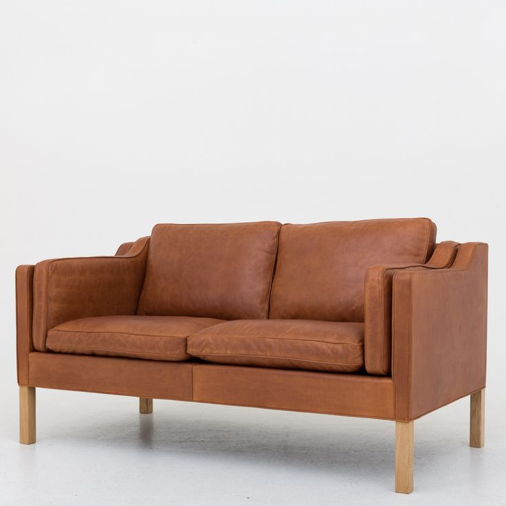 BM 2212 - Reupholstered 2 seater sofa