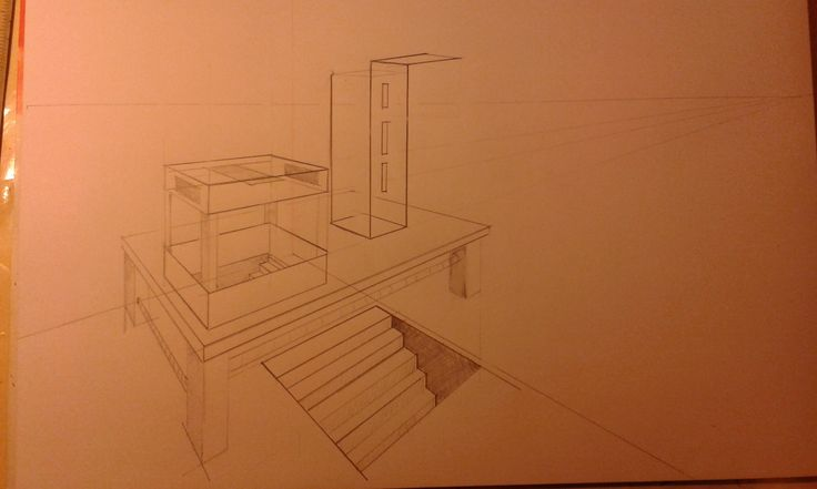 Two-Point Perspective Drawing Assignment