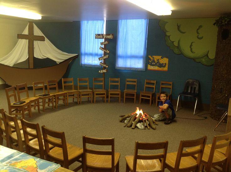 Sunday school classroom