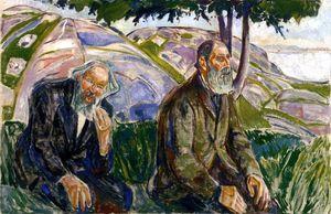 Due uomini anziani