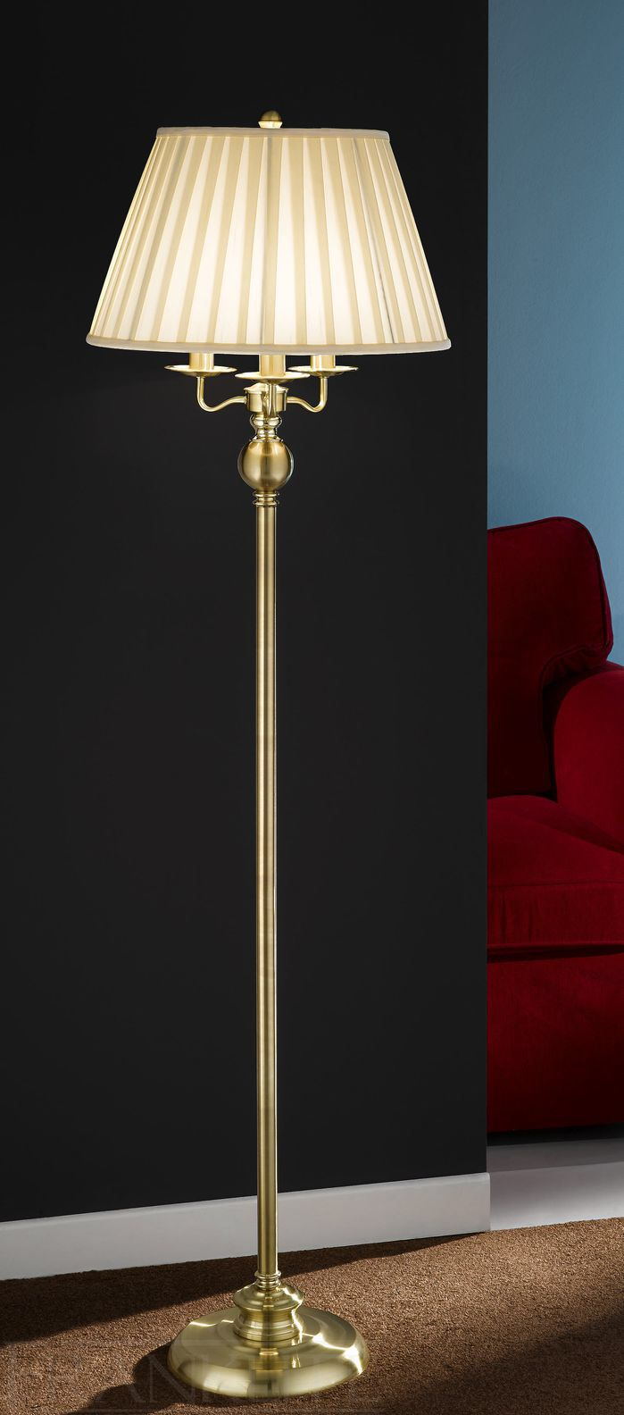 Buy vancouver expressions linen mirror rectangular online cfs uk - 157cm Floor Lamp
