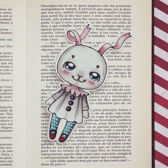 Ribonita - Romantic Carnival bookmark