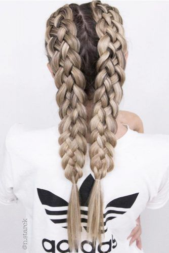 24 AMAZING BRAIDED HAIRSTYLES FOR LONG HAIR 2018