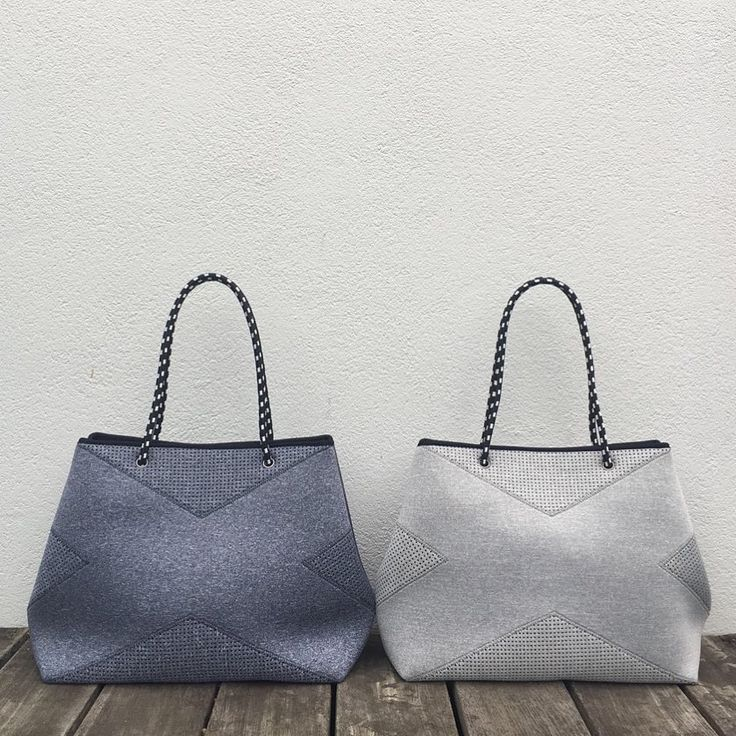 The Prene X Bag has arrived! It's super stylish and big enough to fit your gym gear and everyday essentials Now available at our online store in light grey, dark grey, blue denim and black #prenebags #neoprene