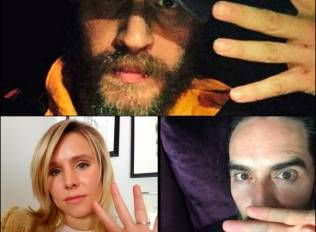 Russell Brand Tom Hardy Kristen Bell Post Selfies For Mental Health Awareness