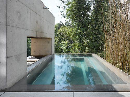 Roger Brunner Architekt - Swimming pool, Küsnacht 2012. Photos (C) Roger Frei.