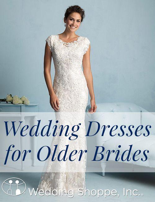 16 Wedding Dresses for Older Brides