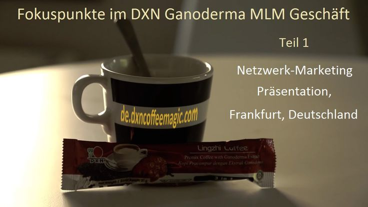 Fokuspunkte im DXN Ganoderma Kaffee MLM Geschäft Teil 1  The good MLM business is the one in which products work without the business opportunity too. Up-to-date, push-free presentation about DXN business to new prospects in Hungarian-German language. For English information, visit: http://dxncoffeemagic.com/business_opportunity and http://dxn.biz/