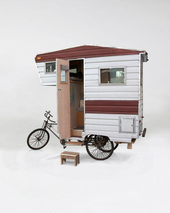 Camper Bike. Now that's unique!