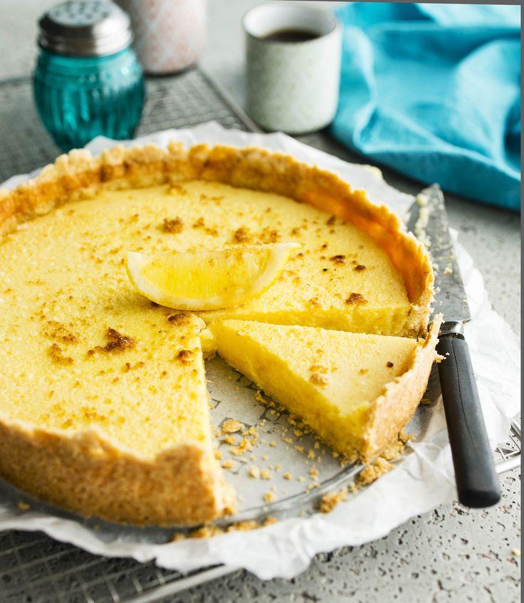 Kaisa suosittelee: Ranskalainen sitruunapiirakka, parasta vaniljajätskin kanssa!