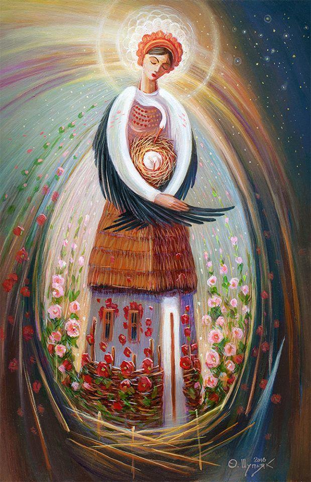 Все від жінки бере свій початок... /Берегиня,/ картина Олега Шупляка/ , from Iryna