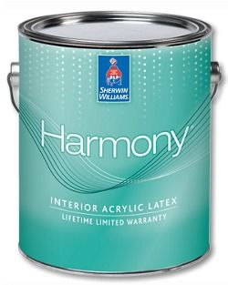 Harmony Interior Acrylic Latex paint is a zero VOC formula that helps promote better indoor air quality and helps reduce common indoor odors so rooms stay fresher, longer.