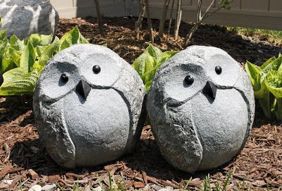 AM Dolce Vita, Cute owl garden decor