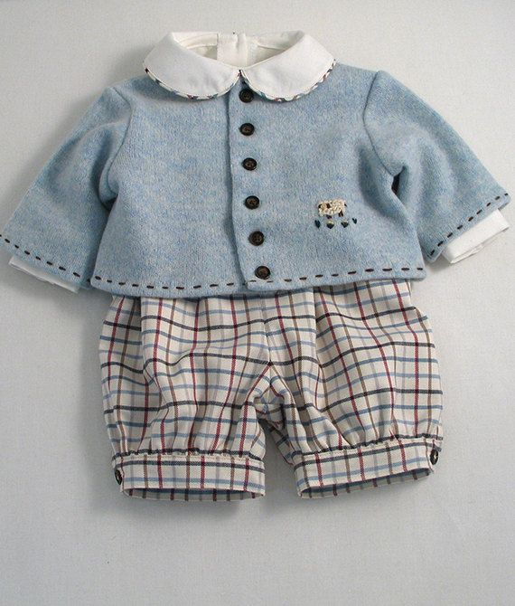 Cute and warm outfit for a baby boy to wear in the Winter!    Description:-    Here we have used the finest, soft and cosy fabrics. The