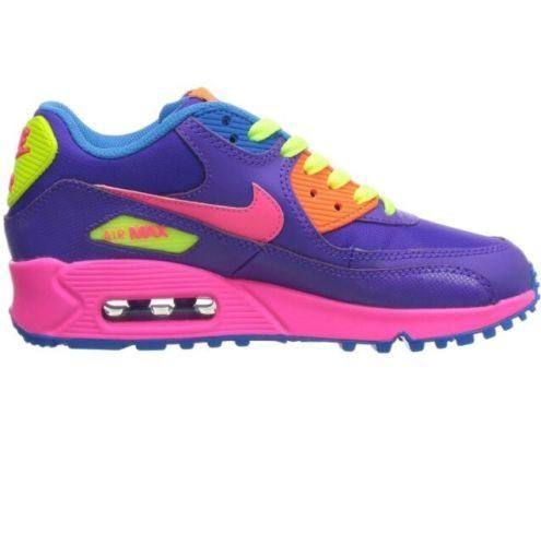 Nike Air Max 90 Gs Running Shoes Material Girl 6 5y Nike Air Max 90 Nike Air Max Nike