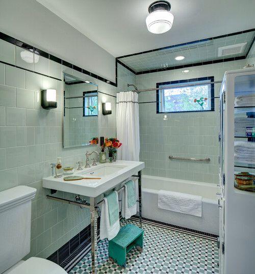 17+ Best Ideas About 1930s Bathroom On Pinterest