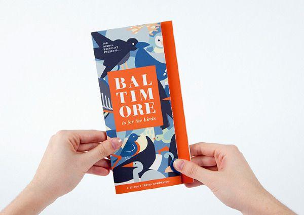 Baltimore Weekend Guide by Jackie Littman, via Behance