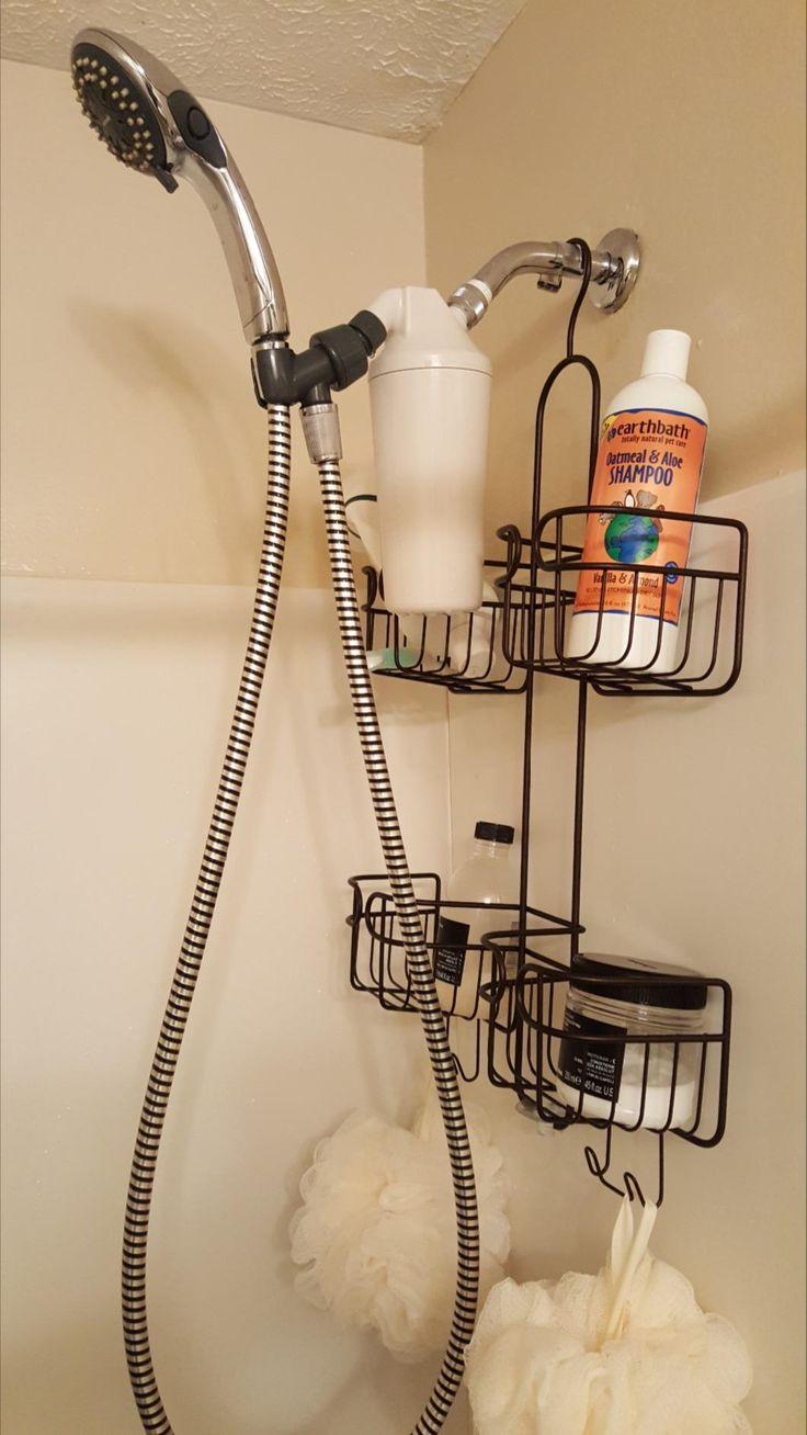 Great Aquasana AQ-4100NSH Premium Shower Filter without Shower Head ~ http://walkinshowers.org/best-shower-filter-reviews.html