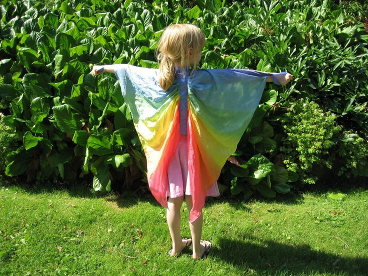 Silk fairy wings - I think I would end up playing with these more than my kids :P