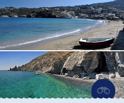 Βορράς ή Νότος; Χρυσή ή σκούρα μαύρη άμμος; Αγία Πελαγία ή Άσπες; Ο Νομός Ηρακλείου έχει τόσες υπέροχες και διαφορετικές μεταξύ τους παραλίες! Μάθετε περισσότερα για την Αγία Πελαγία εδώ: http://bit.ly/29VQqZV και για τις Άσπες εδώ: http://bit.ly/2abaw3g.  #Minoan_escapes  North or South; Golden or dark-colored sand? Agia Pelagia or Aspes beach? Heraklion has so many wonderful and different beaches to choose from! Learn more about Agia Pelagia beach here…