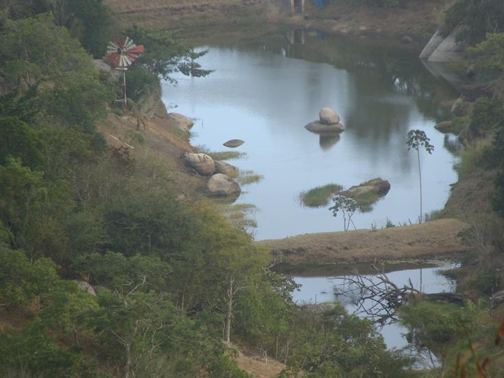 Amanhecer de Serra Negra, Bezerros, 5 am, 24 de novembro de 2012.