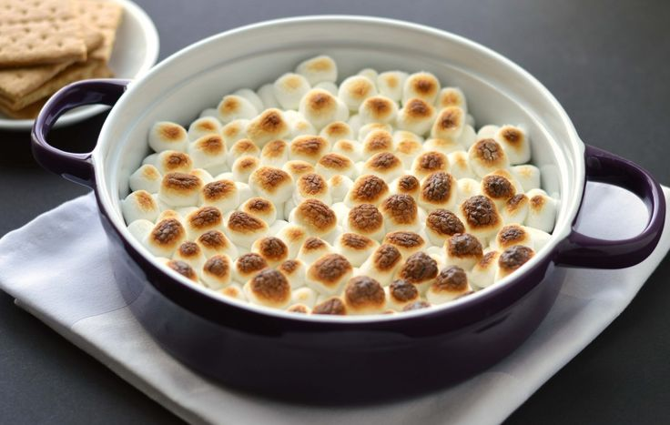 You don't need a fire when you have S'mores dip!