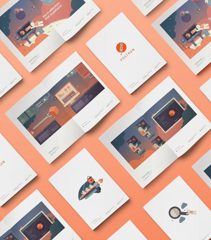Brand Expansion, Digital Design and Art Direction done for Postman