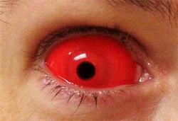 Sclera Red contact lens PAIR (Not included in promotions) [SCL-R