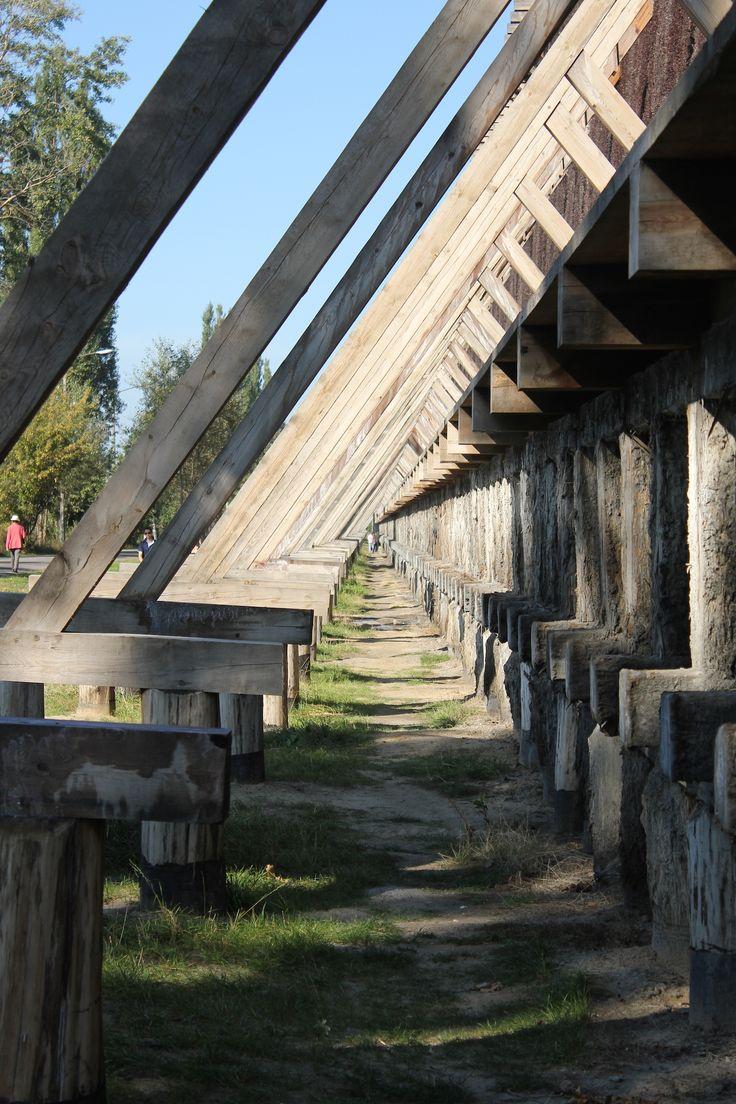 Tężnie w Ciechocinku #sanatory #ciechocinek #poland #salt #health #teznie #saline #towers