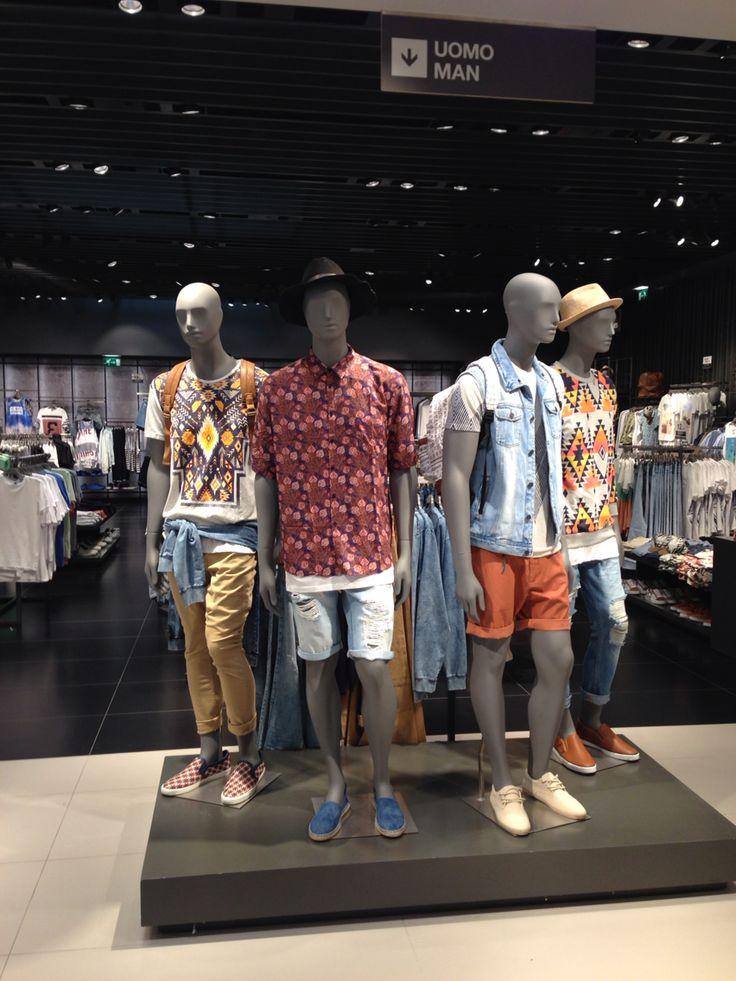 Casual Bershka chico man uomo summer boho collection 2015