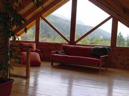 Cabañas de troncos en alquiler - Patagonia