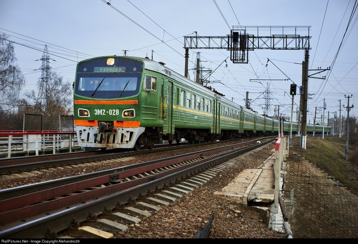 RailPictures.Net Photo: Russian Railways EM2 at Moscow, Russia by Alehandro29